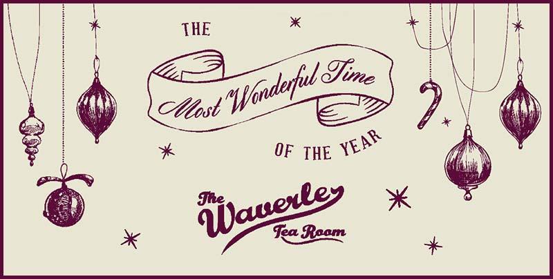 Waverley Tea Room Festive
